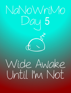 nanowrimoday5